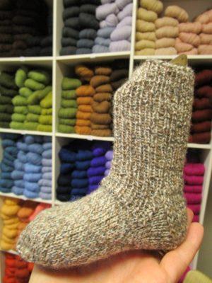 Gratismönster Tunn Socka-3709