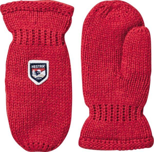 Kids Basic Wool, Röd-0