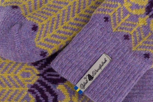 Yllesockan Fager Isa Lavendel-3555