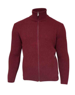 Gudmar full zip Rumba Red-0