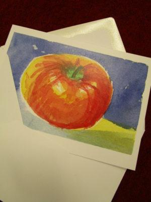 Julkortet Äpple-3970